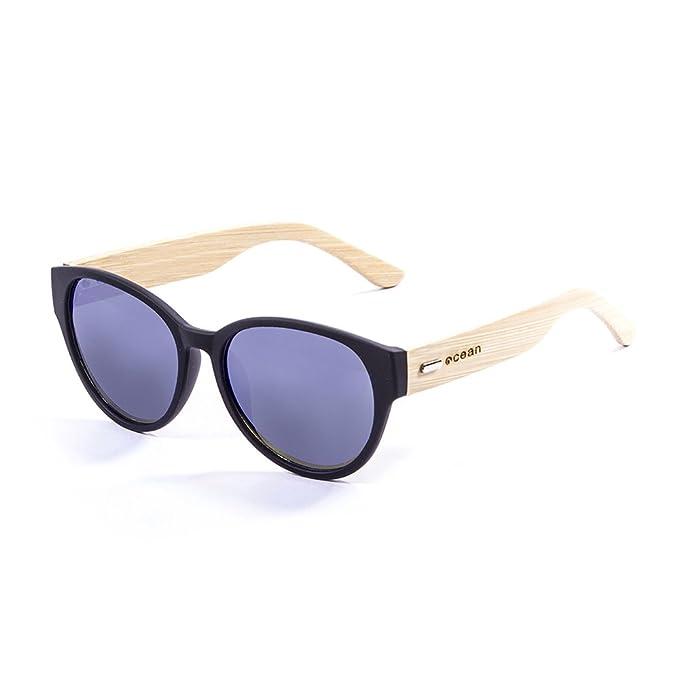 Ocean Sunglasses cool - lunettes de soleil en Bambou - Monture : Bambou - Verres : Fumée (51000.1) LgBr6oJUWi