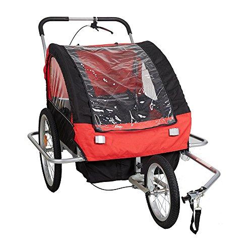 2 Seater Jogger Stroller - 8