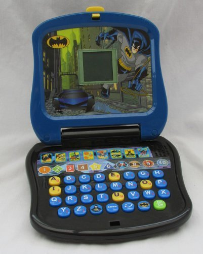 Batman Learning Laptop for Kids Oregon Scientific Laptop