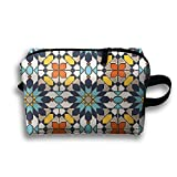 Lqzdqa Unisex Tourist Bag Islamic Design Toiletry Bag Sundry Bag