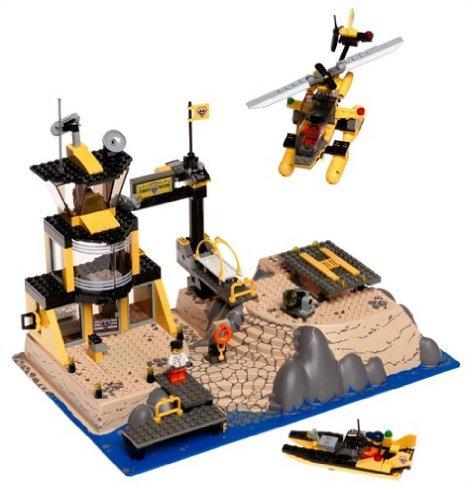 [해외] LEGO (레고) WORLD CITY: COAST WATCH HQ 블럭 장난감 (병행수입)