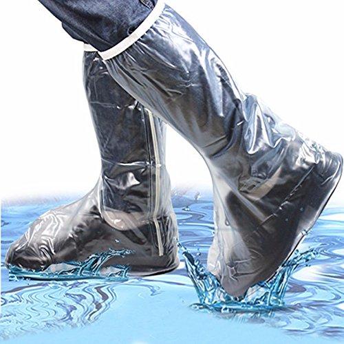 Tutoy Männer Frauen Regen Schuhe Decken Wasserdichte High Boots Flats Rutschfeste Overshoes Regen Gear-L