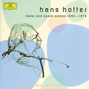 """Afficher """"Lieder and opera scenes"""""""