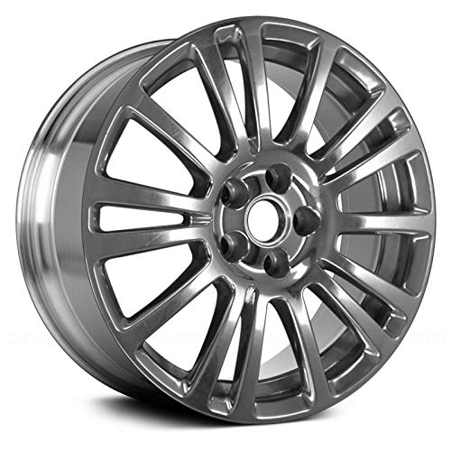 (Replacement 15 Spokes Bright Polished Factory Alloy Wheel Fits Chevy Cruze Limited)
