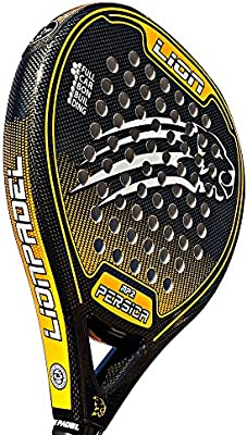 Pala Padel Lion PERSICA MP2 Control Orange: Amazon.es ...