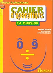 CAHIER D'OPE - DIVISION    (Ancienne Edition)