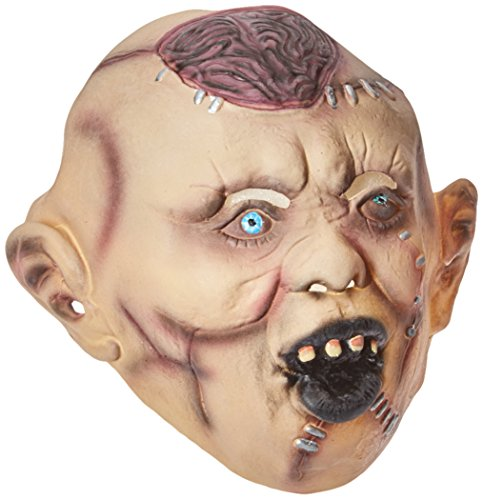 Monster Collection On The Zombie Adult Costumes (Smiffys Men's Autopsy Zombie Mask)