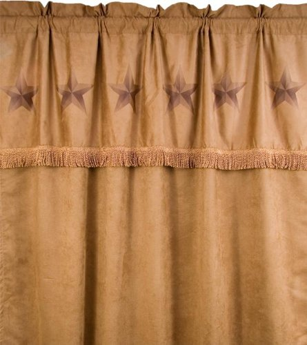 Panel 84l (HiEnd Accents Luxury Star Western Curtain)