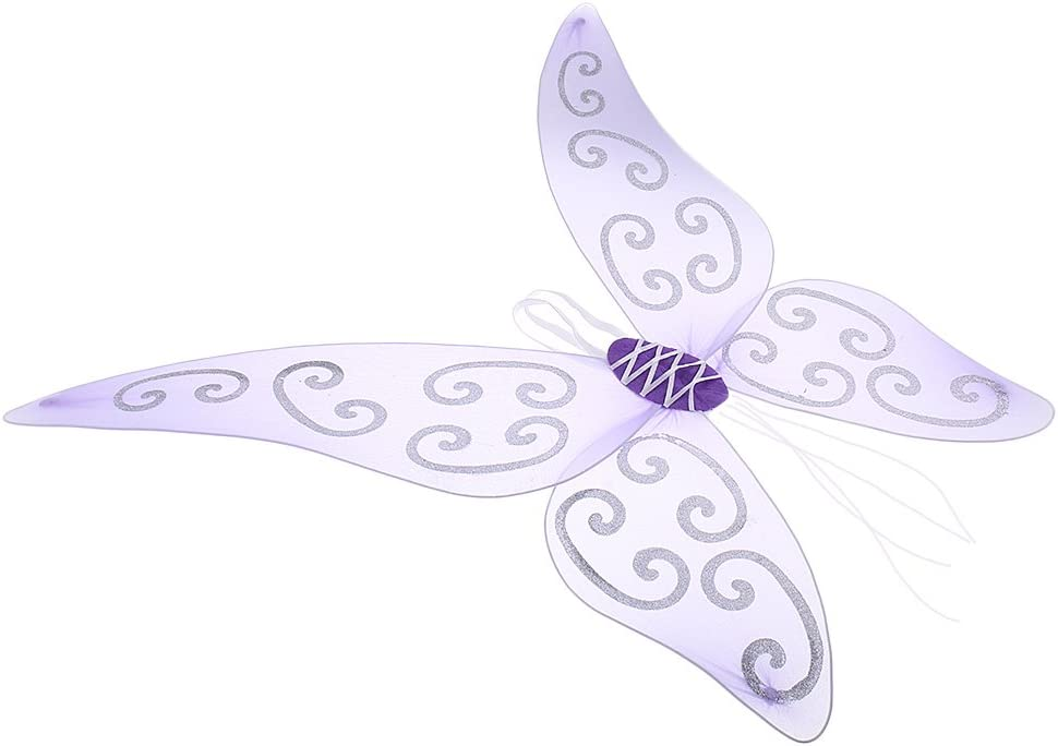 Sharplace ala de Mariposa Hada /Ángel para Adultos Traje con Tul Actuaci/ón Destello Rosa