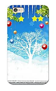 Iphone 6 Case Cover - Slim Fit Tpu Protector Shock Absorbent Case (christmas Time )