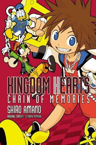 Kingdom Hearts: Chain of Memories by Shiro Amano (25-Jun-2013) Paperback