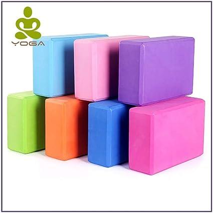 Amazon.com : HOME KITCHEN LLC - Yoga Block Props Foam Brick ...