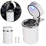 Top Grade Led Cigar Automobile Ashtray Cup for VW golf for A4 Car Cigarette Ashtray Holder with Car Air