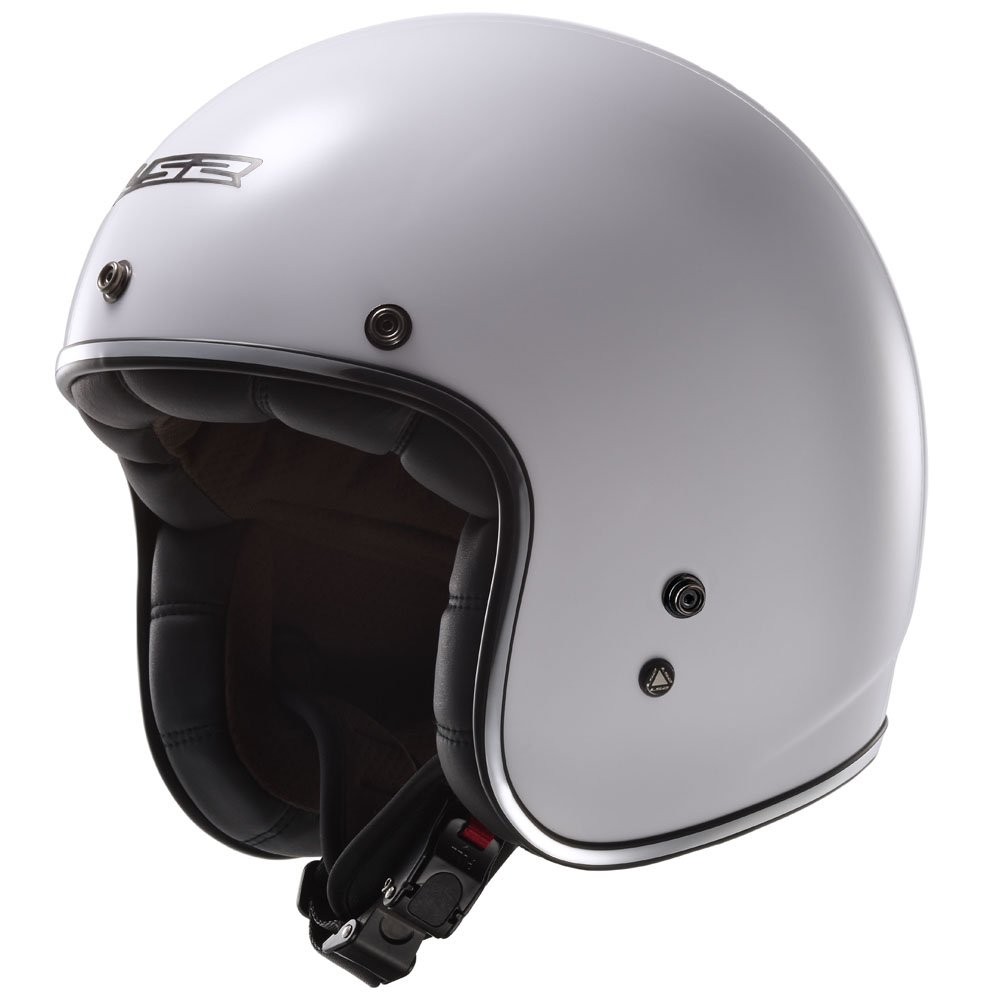 Amazon.com: LS2 Kurt Solid Bobber Motorcycle Helmet (White, X-Small): Automotive