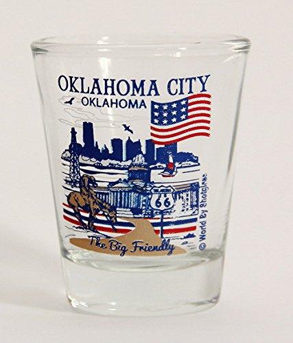Oklahoma City Oklahoma Great American Cities Collection Shot - Oklahoma City Glasses