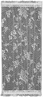product image for Heritage Lace English Ivy 24-Inch Wide by 50-Inch Drop Sidelight Panel, Ecru