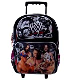 WWE Large Rolling Backpack (School Rolling Backpack)