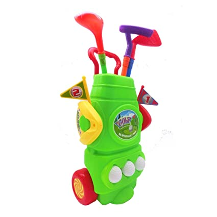 Juego de carrito de golf para niños Juego de club de golf ...