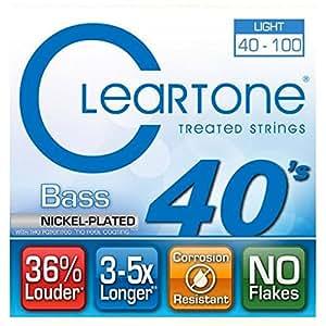 Cleartone Light Bass Strings .040-.100 Strings