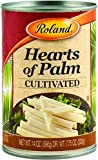 Roland Hearts of Palm, Cultivated, 14 Ounce (Pack of 24)
