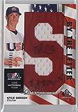 #4: Kyle Gibson #63/181 (Baseball Card) 2008 SP Authentic - USA Baseball National Team By the Letter Autographs #NTA-KG.1