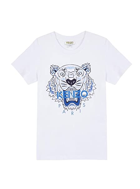 Kenzo Camiseta Tiger JB Blanco 5A Blanco