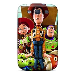 High Quality Phone Cover For Samsung Galaxy S3 With Unique Design Fashion Toy Story 3 Pattern CharlesPoirier