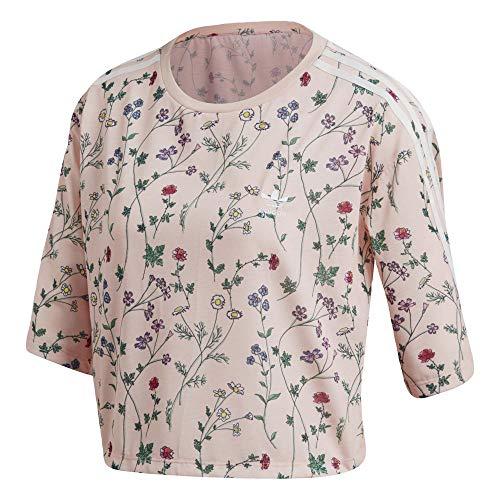 Shirt rosrub Adidas Femme Rose Workout Collants Graphic T 1w8xv