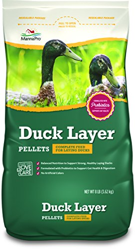 Manna Pro Duck Layer Pellets, 8 lb