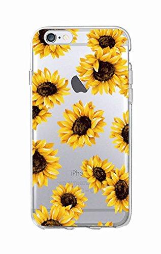 Daisy Sunflower Floral Flower Soft Clear Phone Case