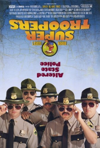 Movie Poster Camille - Super Troopers POSTER Movie (27 x 40 Inches - 69cm x 102cm) (2001)