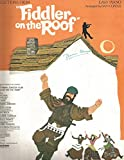 Selections from Fiddler on the Roof - EASY PIANO SHEET MUSIC BOOK