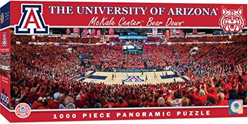 - MasterPieces Collegiate Arizona Wildcats 1000 Piece Stadium (Basketball) Panoramic Jigsaw Puzzle