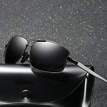 HHHKY&T Gafas De Sol Polarizadas Los Hombres Gafas De Sol Prejuicios Masculinos Óptico Drivers Gafas De