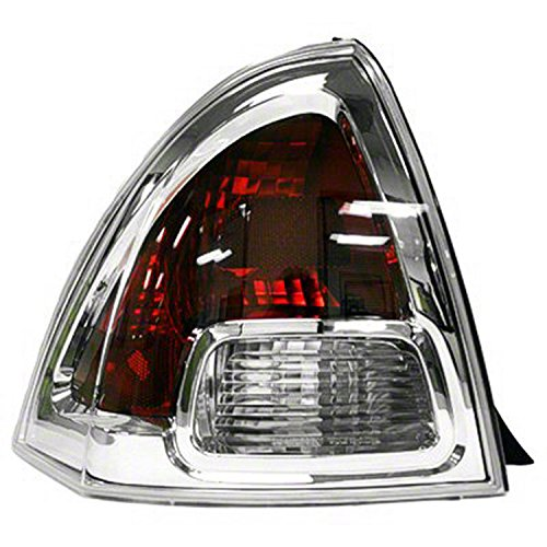 GetAllParts New Aftermarket Driver Side Rear Tail Lamp Lens and Housing 6E5Z13405B ()