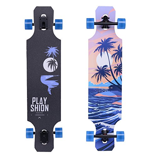 Playshion Freeride Freestyle Longboard Skateboard product image