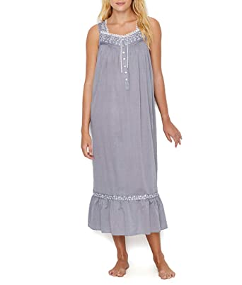 Eileen West Womens Chambray Ballet Nightgown at Amazon Women s ... 4e75cb289