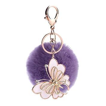 Daliuing - Llavero con forma de mariposa para mujer y niña ...