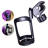 Samber Baby Stroller Cup Holder Universal Drink Holder Multi-purpose Drink Container Nursing Bottle Storage Baby Stroller Accessories for Strollers Prams Pushchairs Wheelchairs Buggies Bikes