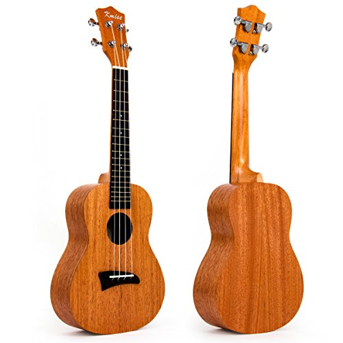 Kmise Laminated Mahogany Concert Ukulele 23 inch Hawaii for sale  Delivered anywhere in USA