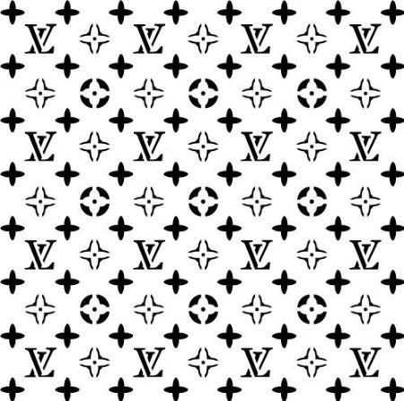 Buy Louis Vuitton Stencil For Cakes And All Purposes 8 X