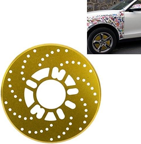 Wewoo Decoración para Freno Coche 2 pcs Universal de Aluminio Auto Rueda de Disco Racing Protectora Decorativa: Amazon.es: Coche y moto