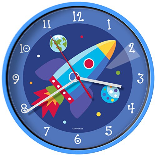 New Olive Kids Out of this World Wall Clock