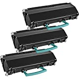 3 Inkfirst® Toner Cartridges X463 (X463X21G) Compatible Remanufactured for Lexmark X463 Extra High Yield Black X464 X464DE X466 X466DE X466DTE X466DWE X463 X463DE