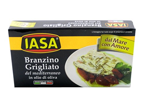 Iasa Branzino Grigliata Seabass in Olive - Sea Bass Fish