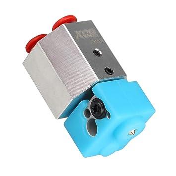 D DOLITY Impresora 3D de refrigeración de Agua Metal Hotend 0,4/1 ...