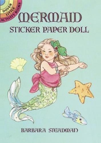 Mermaid Sticker Paper Doll (Dover Little Activity Books Paper Dolls)