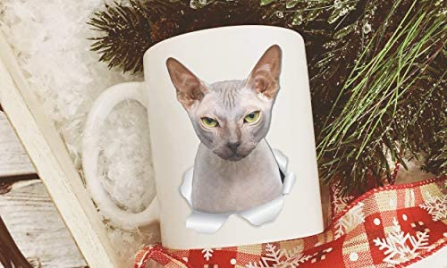 Grumpy Sphynx Cat Mug - Canadian Sphynx Cat Ceramic Coffee Mug - Perfect Sphynx Cat Gifts - Funny Sphynx Cat Coffee Mug for Cat Lovers (11oz) 25