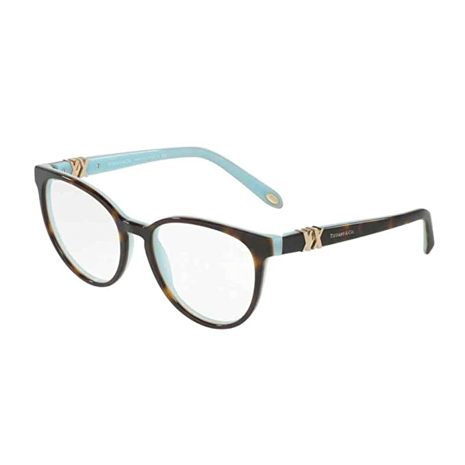 0d08d7cfd00f Tiffany TF2138 8134 Occhiali da vista new eyeglasses havana blue Brille  marrone  Amazon.ca  Clothing   Accessories
