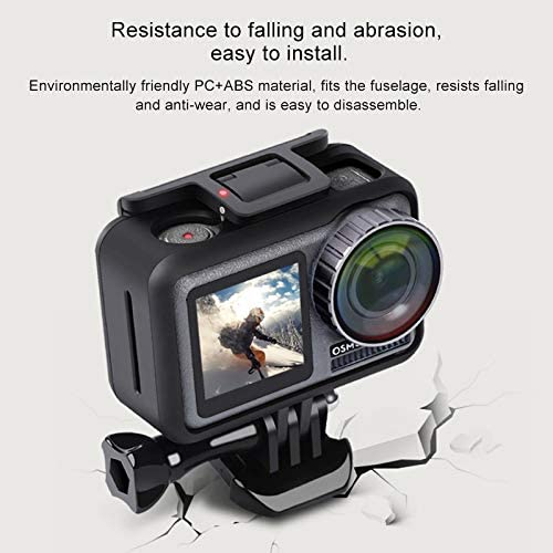Sports Camera PC+ABS Shockproof Protective Case for DJI New Action Durable